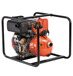 Davey 5270YE Yanmar Electric Start Diesel Powered Twin Impeller Firefighter Pump - Pumps2You