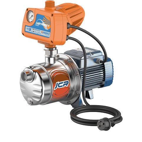 Pedrollo JCRm 1A-EP1 Self Priming Jet Pump with EASYPRESS Electronic Controller 0.55KW 240V