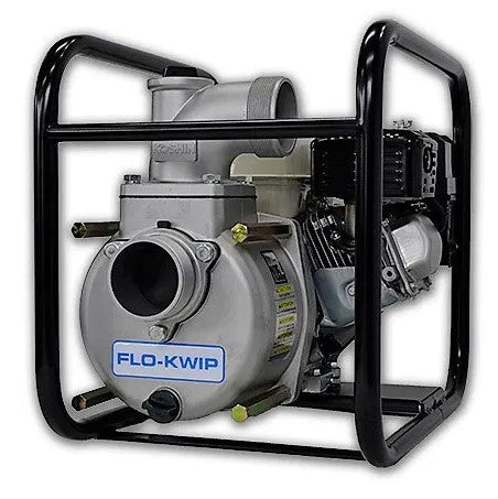 "Flo-Kwip  STH-80X Honda GX160 Engine Driven 3"" Semi-Trash Pump"