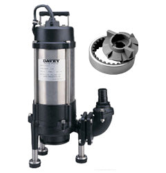 Davey D75G Submersible Grinder Pump - Pumps2You