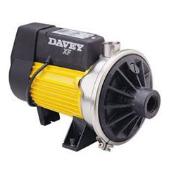 Davey XF192S Series 240 volt Electric Transfer Pump with silicon carbide seal & thermoprotection