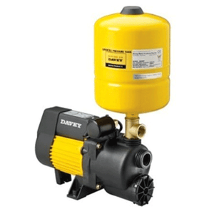 Davey XP25P8 W1 Weekender Series Aquamate Pressure Pump with 8L Pressure Tank