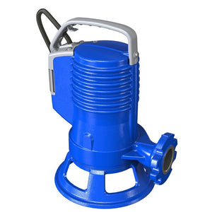 Zenit ZEN-GRBLUEP100/2/G40HTEX Submersible Sewage Grinder Pump Manual 0.75KW 415V (711423)
