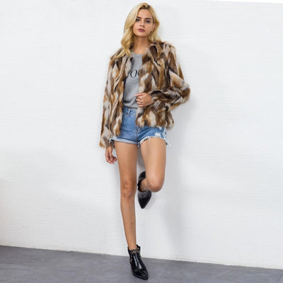 Manteau Faux Fur