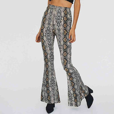 Pantalon Patte d'elph Serpent