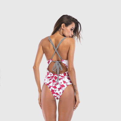 Maillot Flamant Rose Sexy Funky
