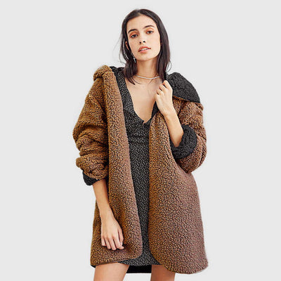 Veste Polaire Lose Fit Faux Fur