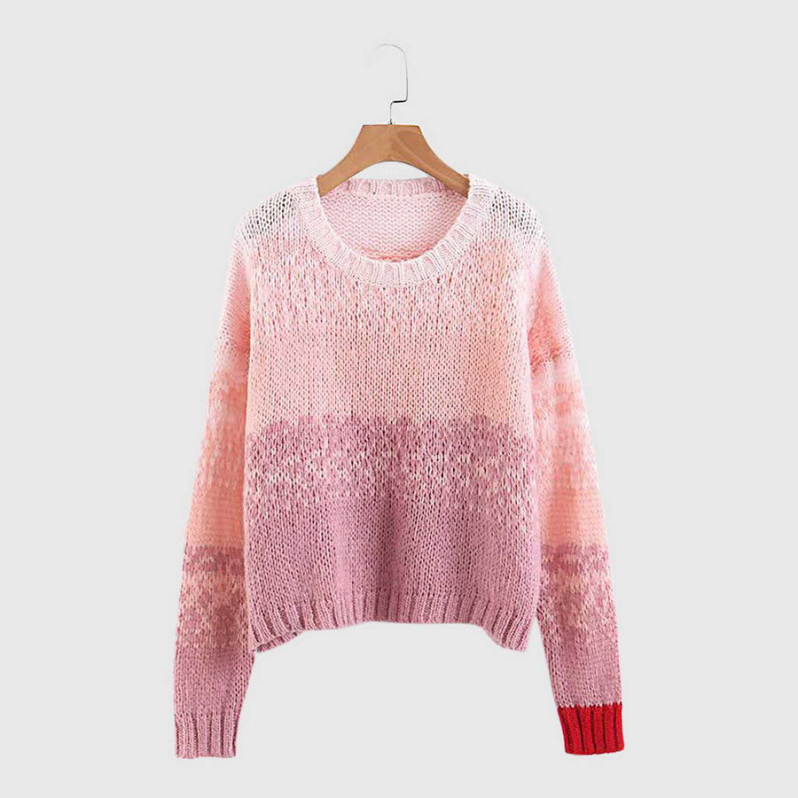 Pull Court Loose Fit Crochet