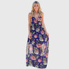 Maxi Robe Empire Fleurie