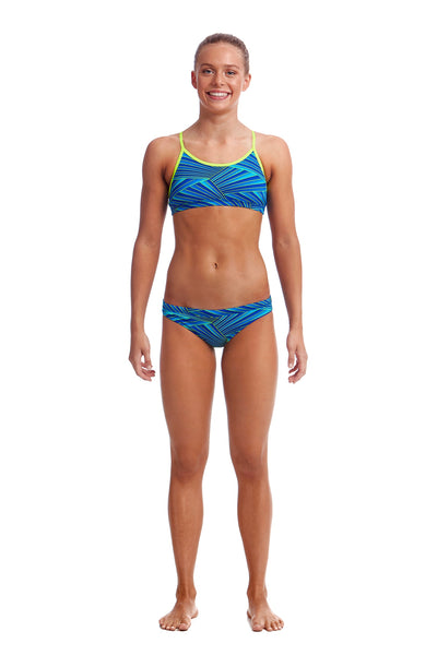 Funkita Girls Racerback Two Piece - Streaker