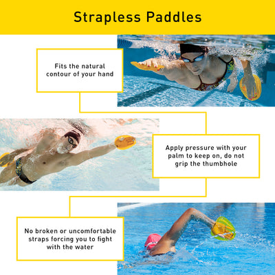 Finis Agility Paddles (Strapless)