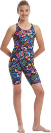 Amanzi Womens Kneelength - Tropical Twilight