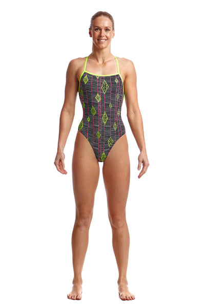 Funkita Ladies Strapped In One Piece - Kite Runner