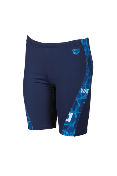 Arena Boys Evolution Jammer - Navy Pix Blue