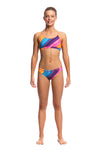 Funkita Girls Racerback Two Piece - Fine Lines