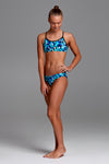 Funkita Girls Racerback Two Piece - Holy Sea