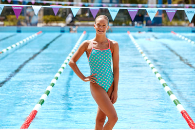 Funkita Girls Strapped In One Piece - Minty Fresh
