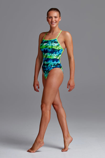 Funkita Ladies Strapped In One Piece - Icy Iceland