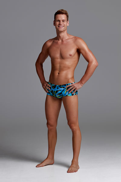 Funky Trunks Mens Eco Classic Trunks - Sucker Punch