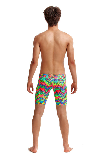 Funky Trunks Boys Training Jammers - Body Contour