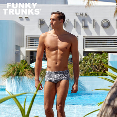 Funky Trunks Mens Eco Classic Trunks - Zebra Crossing
