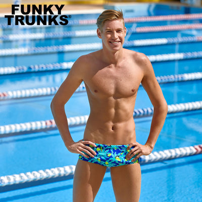 Funky Trunks Mens Eco Classic Trunks - Bird Brain