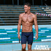 Funky Trunks Mens Training Jammers - Sound System