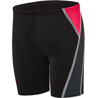Speedo Toddler Jammer - Black Fiery Red White