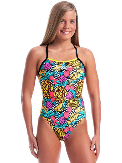 Amanzi Womens One Piece - Pineapple Punch