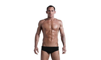 Funky Trunks Mens Classic Briefs - Still Black