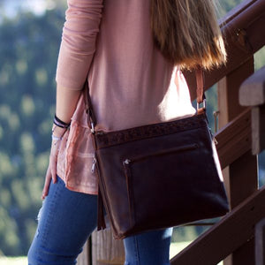 Faith Leather Crossbody