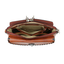 Evelyn Leather Crossbody Organizer