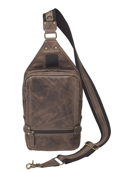 GTM/CZY 108: Sling Backpack-Buffalo Leather