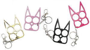 """Cat"" Metal Self Defense Keychain"