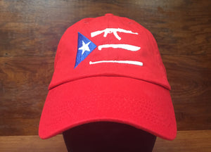 Plata, Plomo o Madera?!? - DAD HAT -  RED