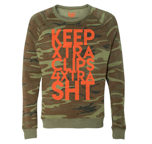 BOYSKOUT KEEPXTRACLIPS LS CREWNECK SWEATER
