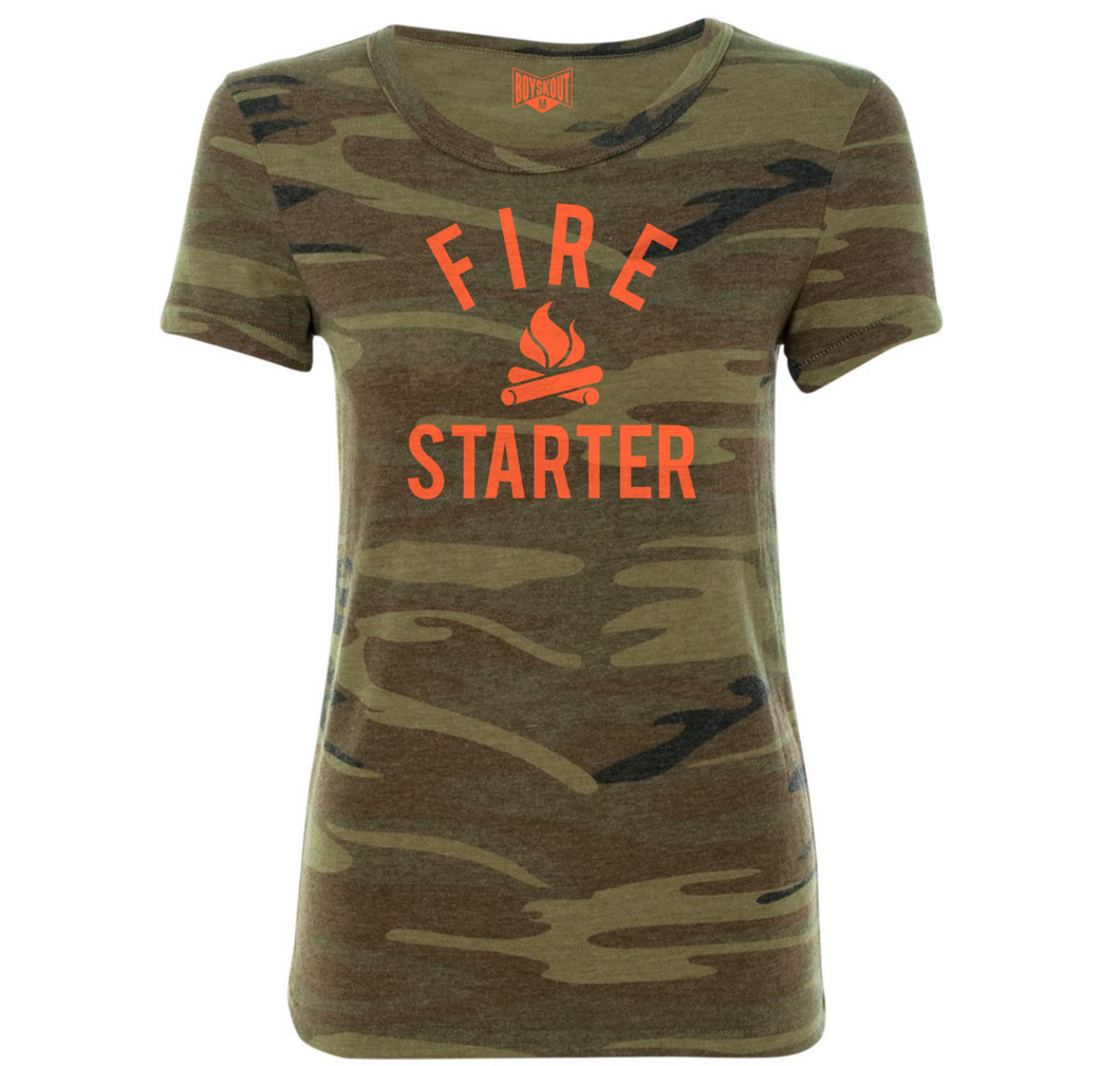 BOYSKOUT LADIES FIRE STARTER TEE