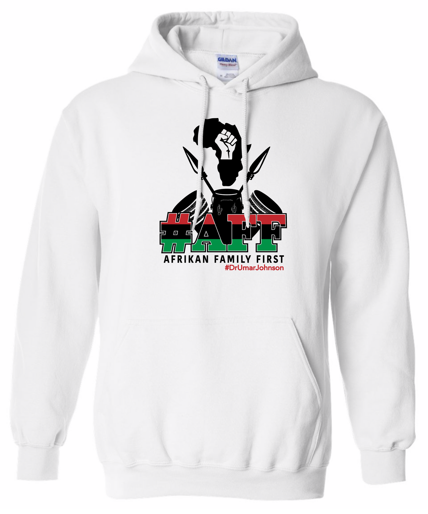 #AFF HOODIE - WHITE