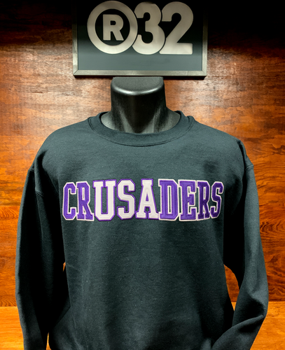 crUSAders Crew Neck - Black