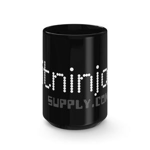 Bitninja Supply Black Mug 15oz