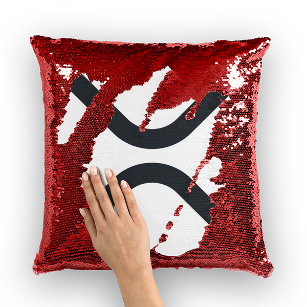 XRP Sequin Pillow