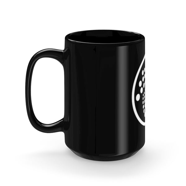 IOTA Black Mug 15oz