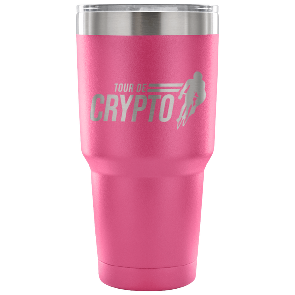 Tour De Crypto Travel Mug