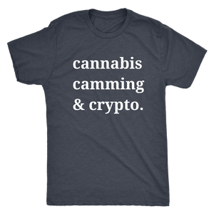 Cannabis Camming & Crypto Tee