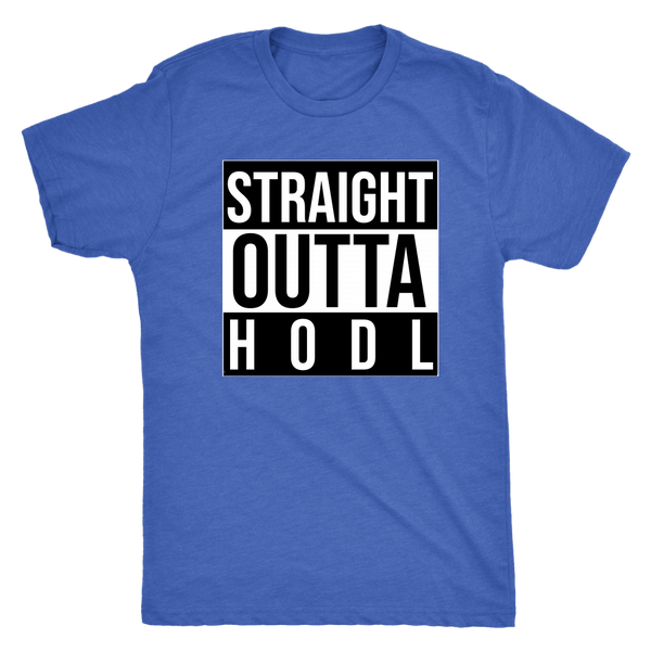 Straight Outta HODL Mens Tee