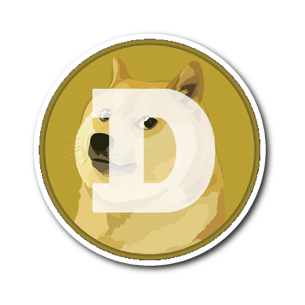 Dogecoin Sticker