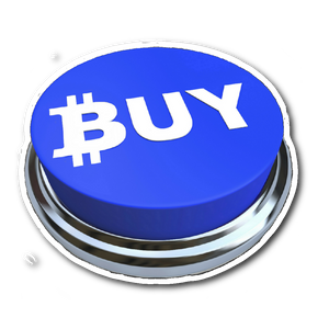 Bitcoin Buy Button sticker