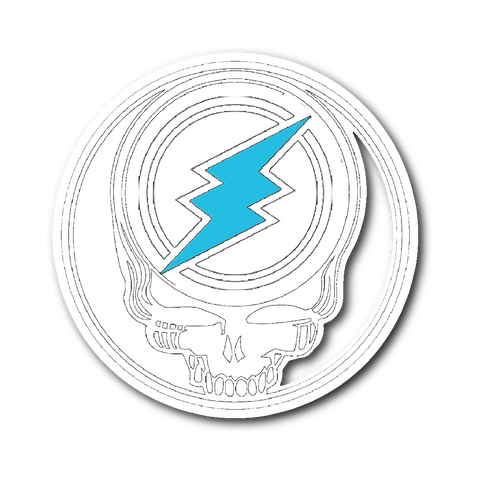 Crypto Electroneum Head sticker