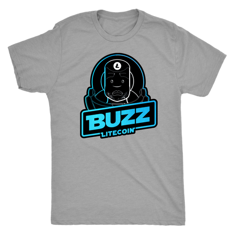 Buzz Litecoin Men's Polyester Blend Tee