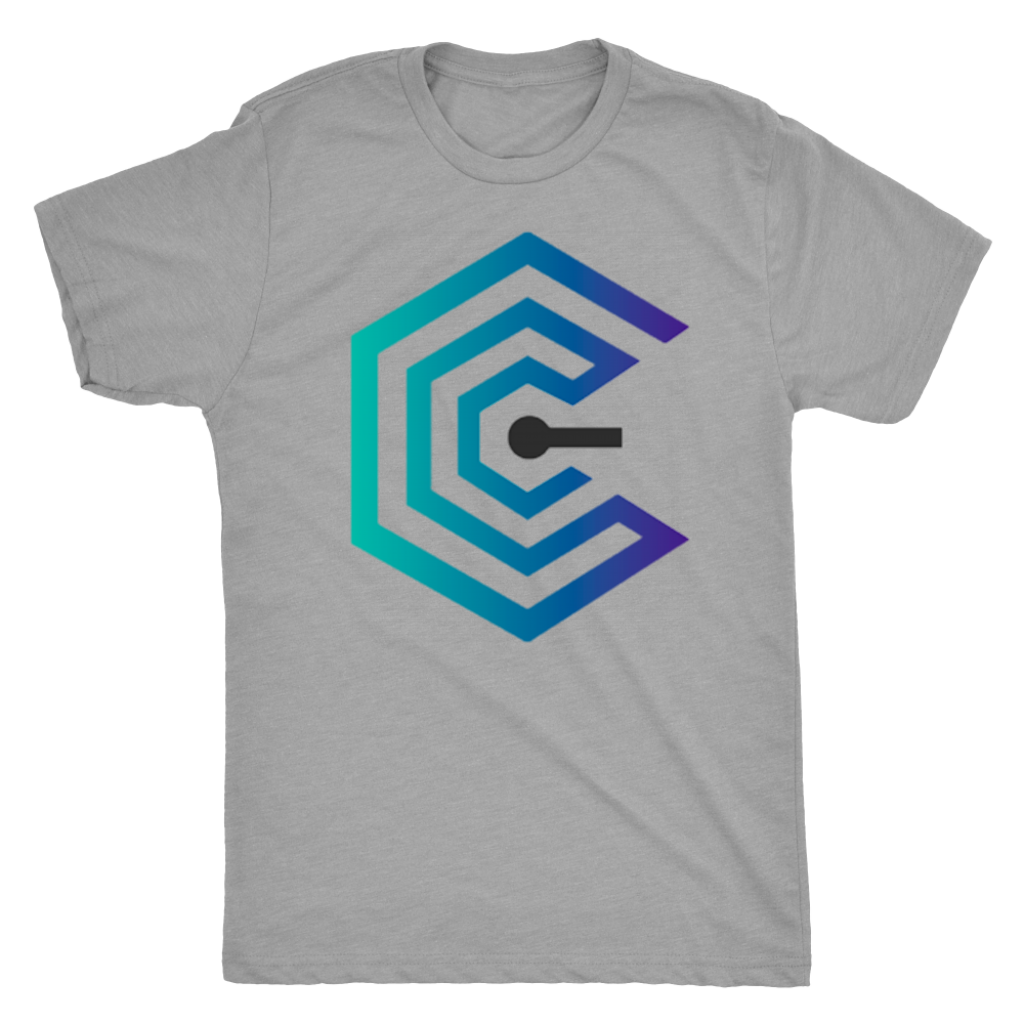 Crypto Insider Large Logo Men's Tee